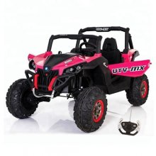 Kids Two Seater Pink Large Electric Off-Road Buggy Kart
