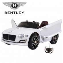 12v Licensed White Bentley EXP-12 Battery Powered Ride-In Car