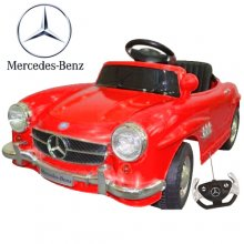 6V Licensed Mercedes SL300 Twin Motor Classic Ride on Car