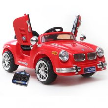 Retro BMW Style Kids 6v Roadster with Remote