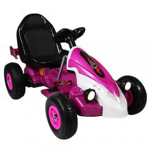 12v Kids Pink Formula Racing Electric Ride On Kart