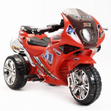 Kids Racing Red 6v Superbike Trike Sports Ride On