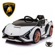 12v Official Lamborghini Sian Kids Battery Supercar 5 Colours