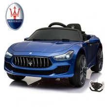 Special Edition Maserati Ghibli Metallic Blue 12v Kids Car