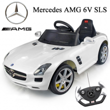 Official 6v Mercedes SLS AMG Ride-on Car with Remote