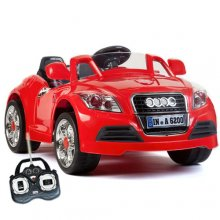Red 12v Kids Audi Style Roadster Sports Car