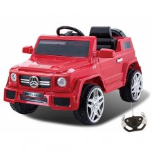 Mercedes Wagon Style 12v Kids Electric Off Roader Jeep