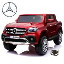 Red Official 4WD Mercedes X-Class 24v Kids Electric SUV