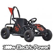 48V 1000w Powerful Speed Monster Electric Ride On Go Kart