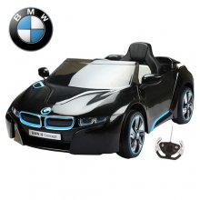 12v Jet Black Official BMW i8 Kids Ride On Car