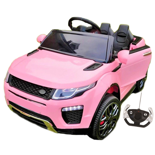 order the 12v pink evoque style 4x4 jeep with remote if you are looking for all the style of the range rover evoque yet without th