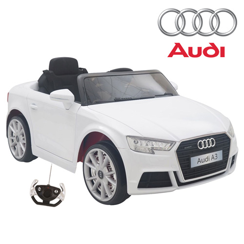 Kids Official White Audi A3 Quattro Electric Car 179 95 Kids Electric Cars