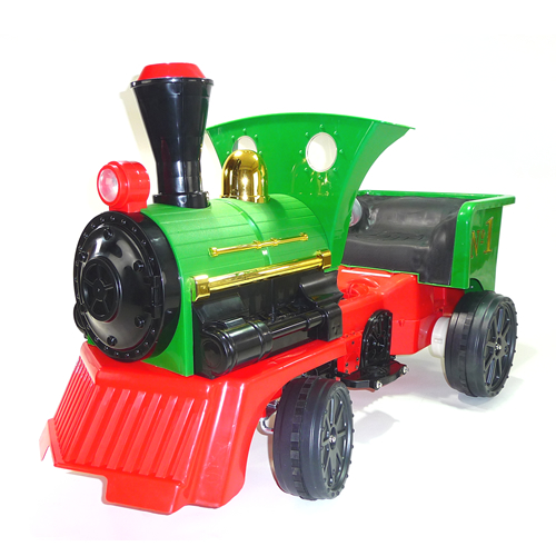 Home    12v RIDE ON TOYS    Kids 12v Electric Ride On Green Train zhdJ6Gqi