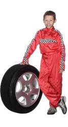 Race Red Kids Racing Outfit