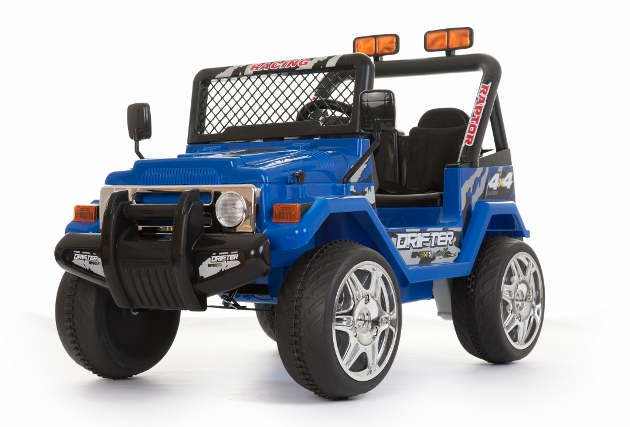 12v Blue Two Seater Off Road Kids Electric Jeep 163 169 99